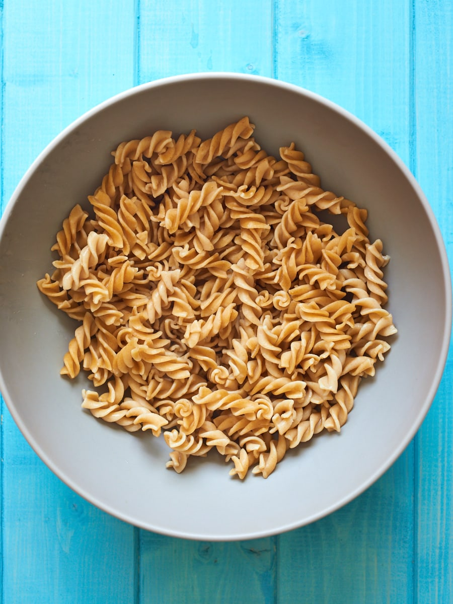 Wholewheat Pasta in Bowl