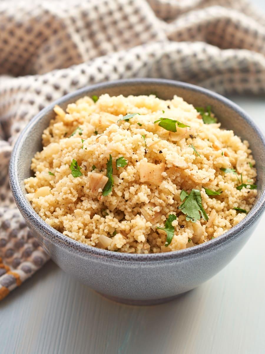 Almond and Coriander Couscous Recipe
