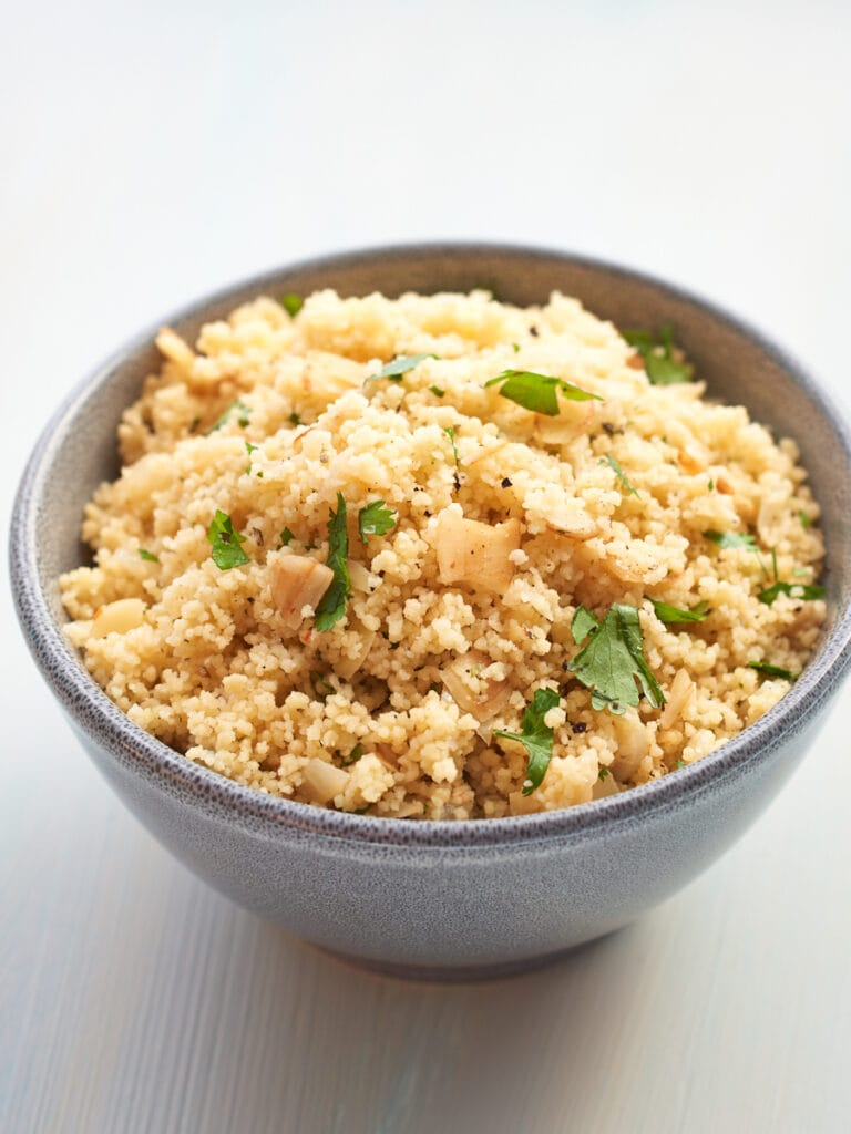 Almond and Coriander Couscous