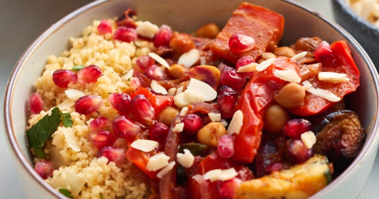 Vegan Moroccan Tagine with Chickpeas