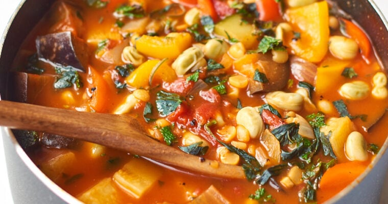 Summer Split Pea Soup
