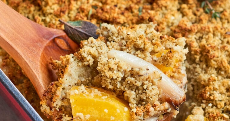 Vegan Pumpkin Casserole