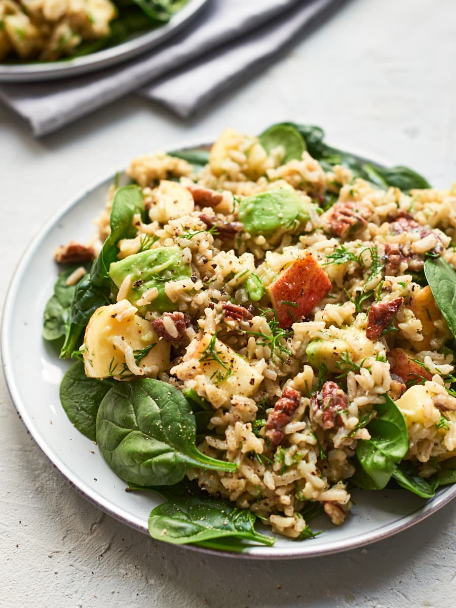 Vegan rice salad 2