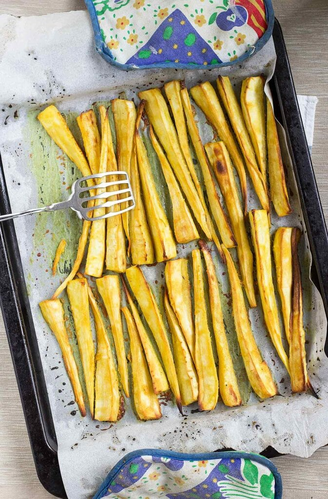 Parsnips in syrup