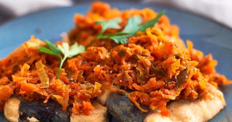 Polish 'Fish'- Tofu po Grecku