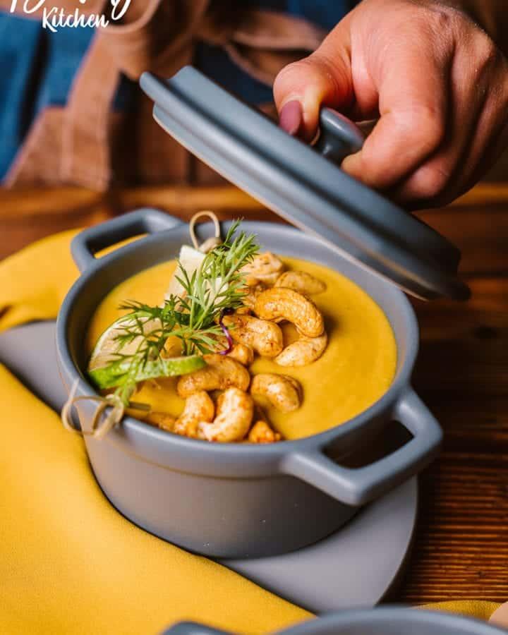 sweet potato cream soup