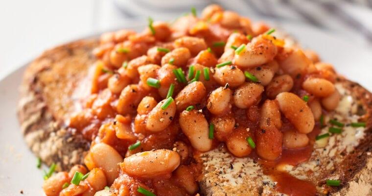 Easy Homemade Vegan Baked Beans