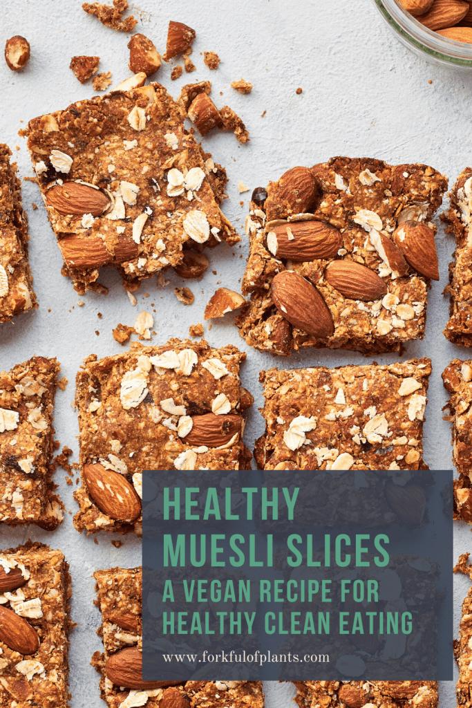 healthy muesli slices pin