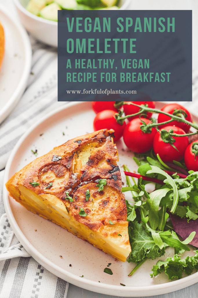 vegan tortilla pin image