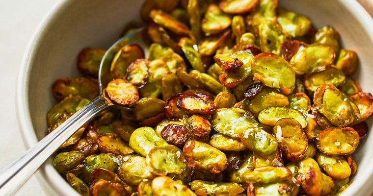 Homemade Roasted Broad Beans Recipe
