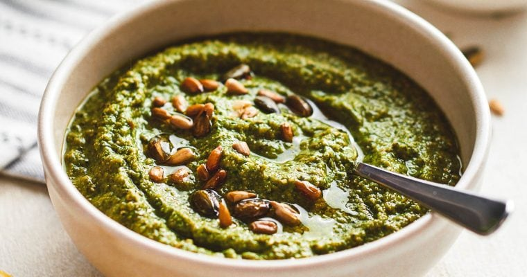 Zucchini Pesto (Courgette Pesto)