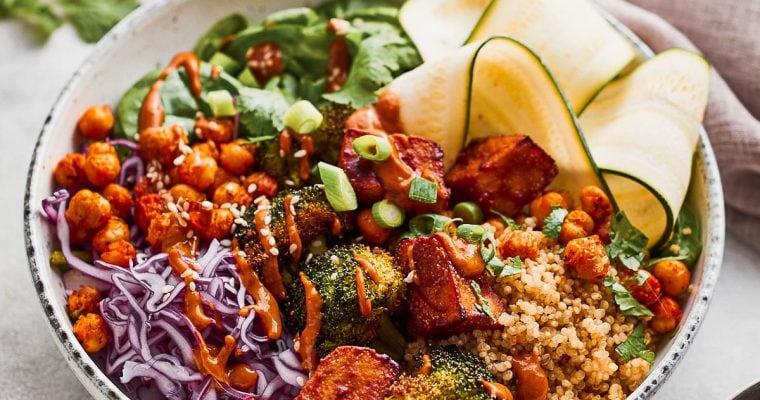 Tofu Buddha Bowl [Vegan + High Protein]