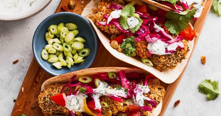 Artichoke Tacos (Vegan Fish Tacos)